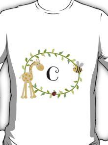 Nursery Letters C T-Shirt