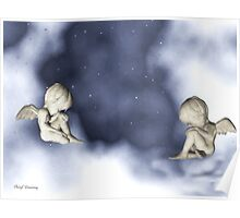 asleep in the clouds Poster