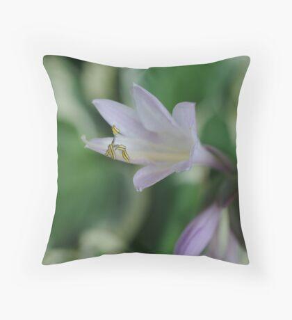 Hosta Bloom Throw Pillow