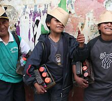 Young Entrepreneurs in Quito by Laurel Talabere