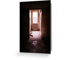 Kings Park Psychiatric Center - your own room Greeting Card