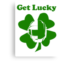Get Lucky - St. Patrick's Day Canvas Print