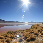 red lake, bolivia by nickaldridge