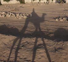 Desert camel rides at dusk by sparkiesworld