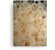 Root Beer Foam Canvas Print