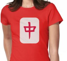 Mahjong Womens Fitted T-Shirt