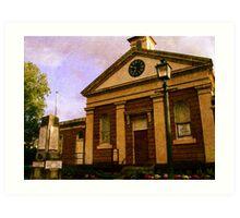 Morpeth Court House Museum Art Print