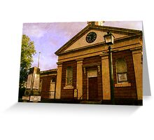 Morpeth Court House Museum Greeting Card
