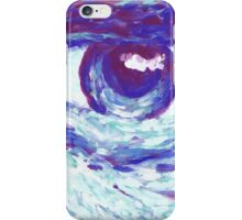 Blue Eyed iPhone Case/Skin