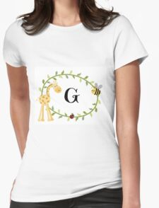 Nursery Letters G Womens Fitted T-Shirt