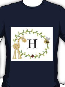 Nursery Letters H T-Shirt