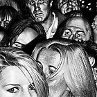 Theatre Crowd by dbclemons