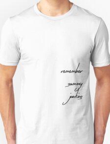 ...remember sammy jankins Unisex T-Shirt