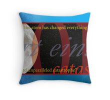 Einstein on Ecology Throw Pillow