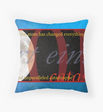 Einstein on Ecology Throw Pillow