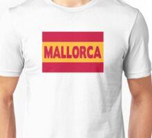 Mallorca Spain flag Unisex T-Shirt