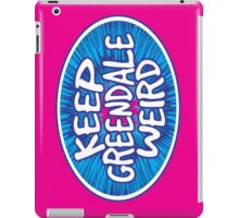 Keep Greendale Weird iPad Case/Skin