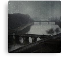 _ over the bridge _ Canvas Print