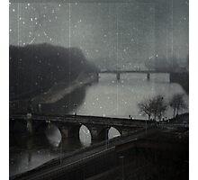 _ over the bridge _ Photographic Print