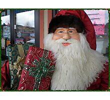Pet Store Santa Photographic Print