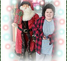 Michael And The Pet Store Santa by Jonice