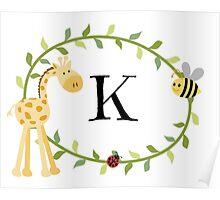 Nursery Letters K Poster