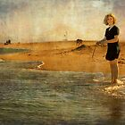 Girl on a shore by paulgrand