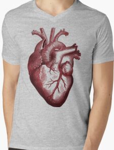 big heart shirt. Mens V-Neck T-Shirt