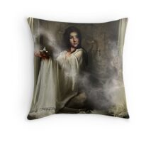 i'm a genie in a bottle!!! Throw Pillow