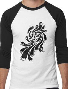 Happy Splash - 1-Bit Oddity - Black Version Men's Baseball ¾ T-Shirt