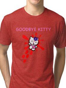 Goodbye Kitty Tri-blend T-Shirt
