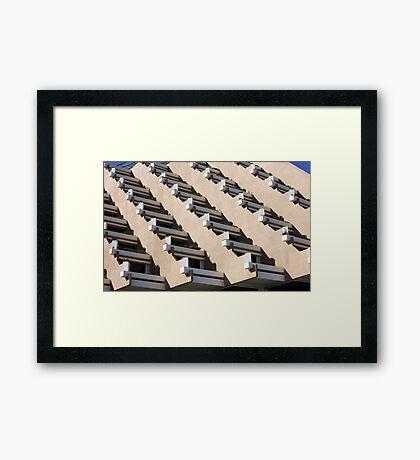 Mayan Terraces Framed Print