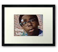 Cookie- Thug Life Framed Print