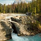 Natural Bridge, Kicking Horse River by Amanda White