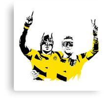 Dortmund Robin Reus Bataubameyang Design Canvas Print
