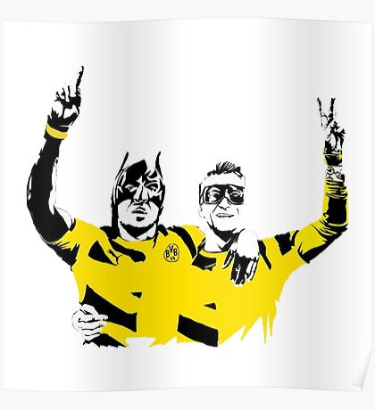 Dortmund Robin Reus Bataubameyang Design Poster