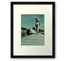 A Thursday Afternoon in April Framed Print