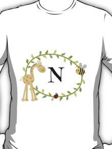 Nursery Letters N T-Shirt