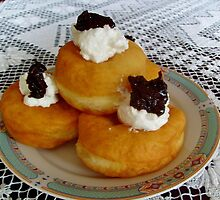 Homemade  donuts by Ana Belaj