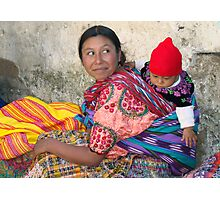 MOTHER AND CHILD - GUATEMALA Photographic Print