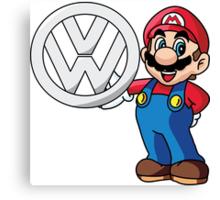 Mario VW Canvas Print