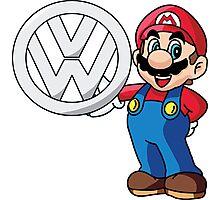Mario VW Photographic Print