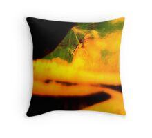 Windmill Distortion 121 Throw Pillow