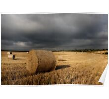Stormy Bales Poster