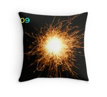 Happy New Year 2009 Card Throw Pillow