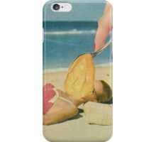 SPOON A MODEL. iPhone Case/Skin