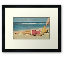 SPOON A MODEL. Framed Print