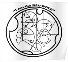 i am the bad wolf Poster