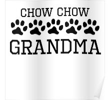 Chow Chow Grandma Poster