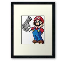 Mario Turbo Framed Print